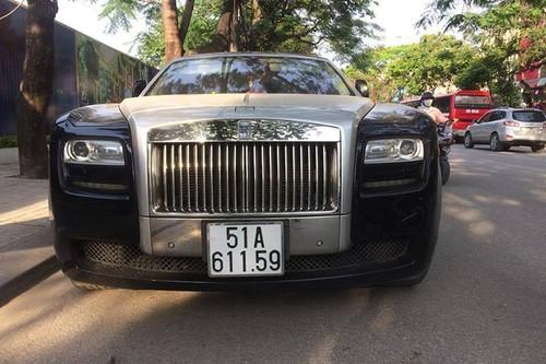 Rolls-Royce chuc ty bien Sai Gon lan banh tren dat Cang