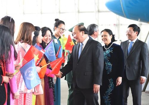 Thu tuong Nguyen Xuan Phuc den New York-Hinh-2