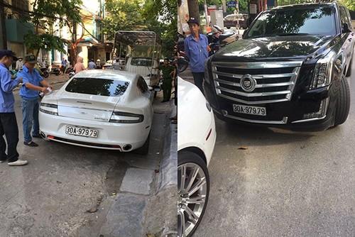 """Chu xe Cadillac tom gon sieu xe Aston Martin """"trom bien"""""""