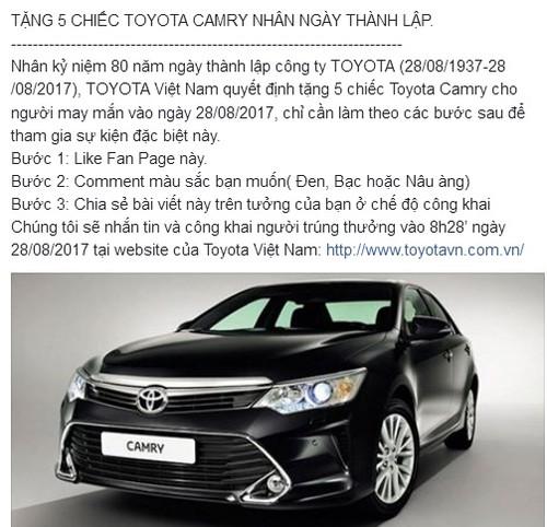 "Hang chuc nghin nguoi dinh ""qua lua"" tang xe Toyota Camry-Hinh-2"