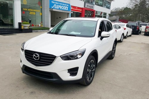 Gia xe oto Mazda CX-5 chi con 793 trieu tai Viet Nam