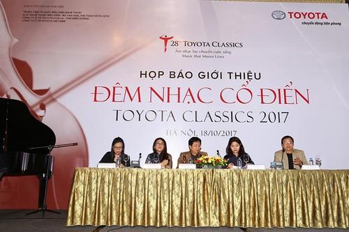 Dem nhac co dien Toyota lan thu 28 sap den Viet Nam