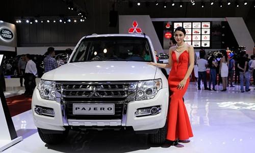 "Hang nghin xe oto Mitsubishi tai Viet Nam ""dinh loi"""