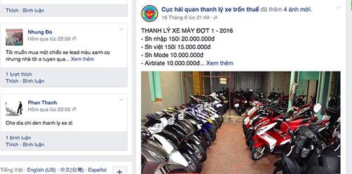 "Xe may Honda SH gia 30 trieu va ""ma tran"" xe thanh ly-Hinh-3"