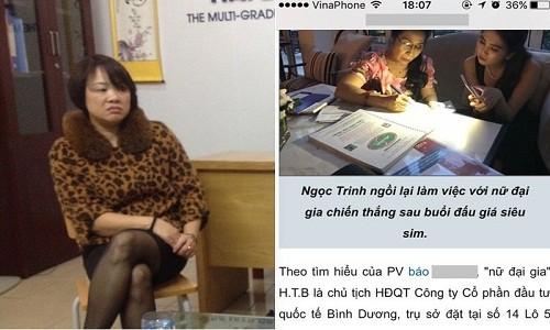 Nu doanh nhan Hai Phong mac tieng oan vi vu dau gia sim cua Ngoc Trinh-Hinh-2
