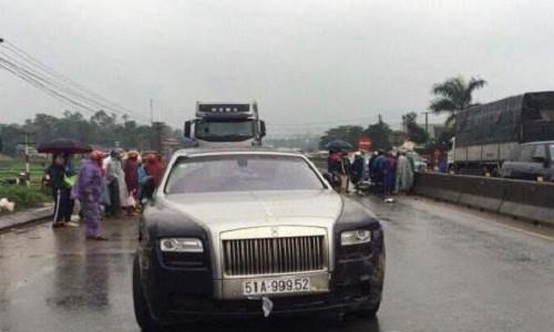 Sieu xe Rolls Royce dam chet nguoi o Ha Tinh