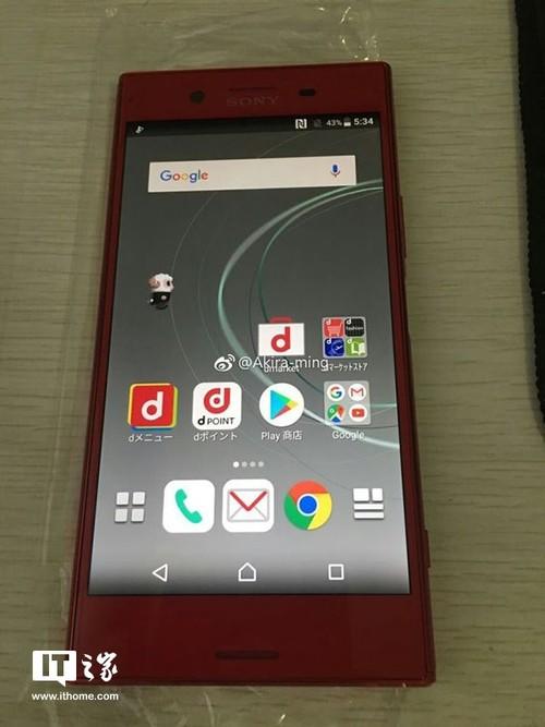 Lo anh mau do cua Sony Xperia XZ Premium-Hinh-3