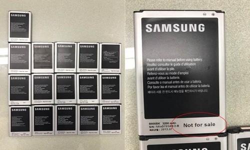 Phat hien vu trom 9.000 smartphone Samsung tuon sang Viet Nam