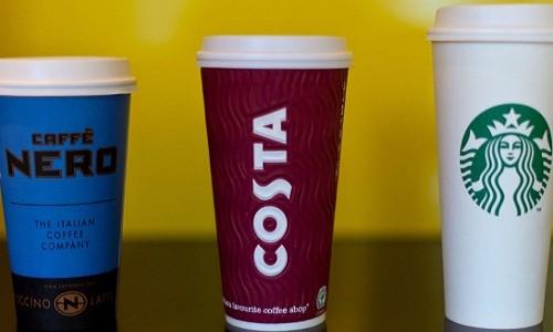 Kinh hoang da vien cua Starbucks nhiem vi khuan co trong phan nguoi