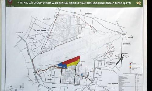 Bo Quoc phong cong bo quy dat trong san bay Tan Son Nhat-Hinh-3