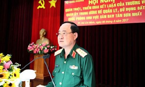 Bo Quoc phong cong bo quy dat trong san bay Tan Son Nhat