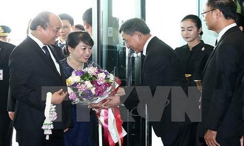Thu tuong Nguyen Xuan Phuc bat dau tham chinh thuc Thai Lan