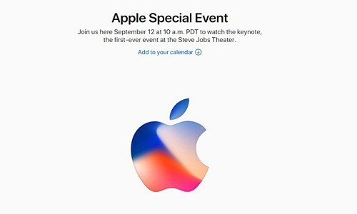 Apple gui thu moi ra mat iPhone 8 ngay 12/9