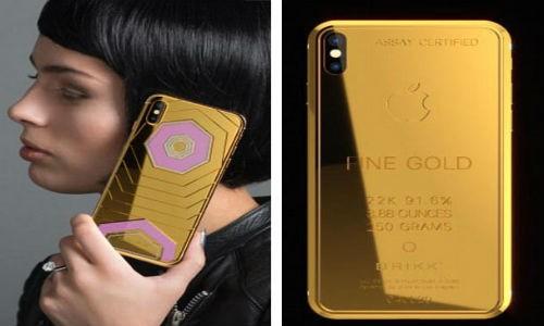 Can canh iPhone X dac biet cho gioi sieu giau, gia 70.000 USD-Hinh-2