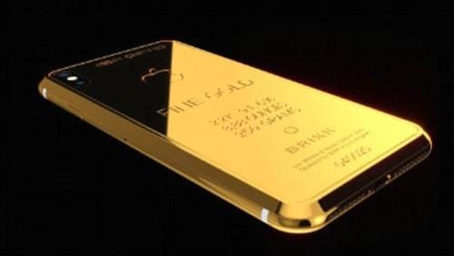 Can canh iPhone X dac biet cho gioi sieu giau, gia 70.000 USD