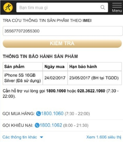 The Gioi Di Dong thua nhan ban iPhone 5S hang 'dung'-Hinh-2