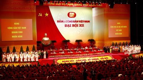 Hom nay, Ban chap hanh Trung uong khoa XII duoc bau nhu the nao?