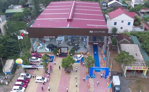 Hyundai Thanh Cong khai truong them 3 dai ly 3S