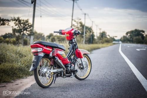 Honda Super Dream 110 do khung, dat hang o Thai-Hinh-9