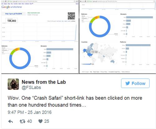 Trang web ẩn khiến hàng trăm nghìn thiết bị khởi động lại