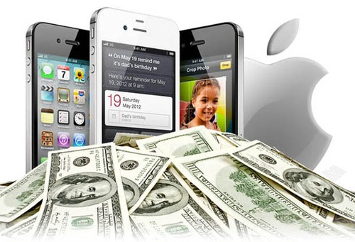 Nam 2014, Apple kiem duoc 101 ty USD tu iPhone