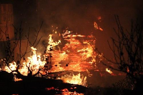 Cháy lớn nhà xưởng ở Đại Mỗ, Hà Nội