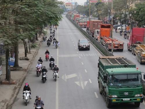 "Cong an noi gi ve ""xe may chuan lan"" o Hai Phong?"
