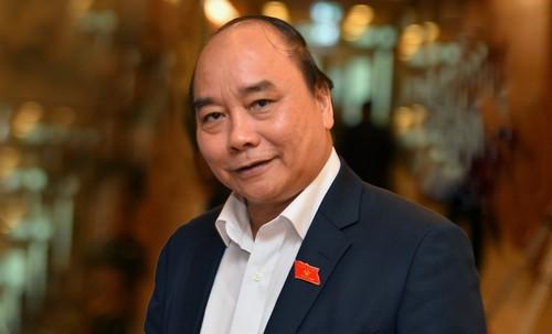 Thu tuong Nguyen Xuan Phuc len duong tham chinh thuc Nhat Ban