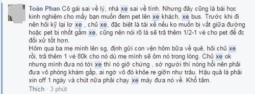 Tranh cai vu co gai bi bo lai giua dem do mang meo len xe-Hinh-3