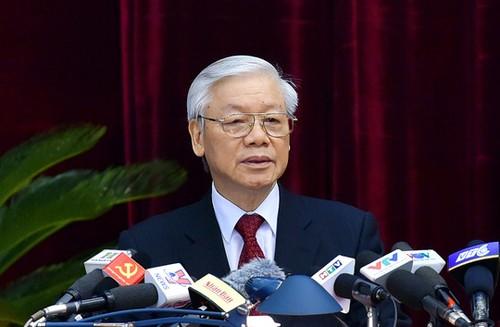 Tong Bi thu: 'Lam cai gi trai long dan, de mat niem tin la mat tat ca'