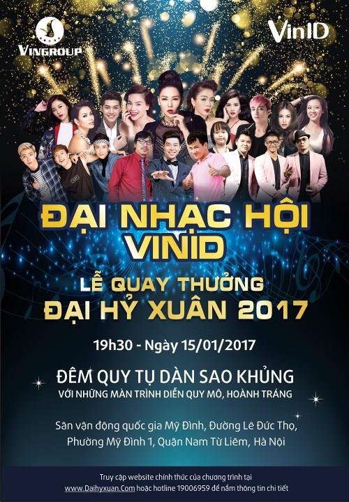 Giam khao The Voice 2017 ganh dua tai Dai nhac hoi don xuan-Hinh-4
