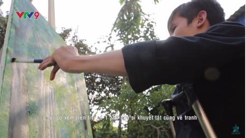 Hoa sy khuyet tat Luu Xuan Thanh: Nguoi ve lai so phan-Hinh-3