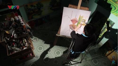 Hoa sy khuyet tat Luu Xuan Thanh: Nguoi ve lai so phan-Hinh-5
