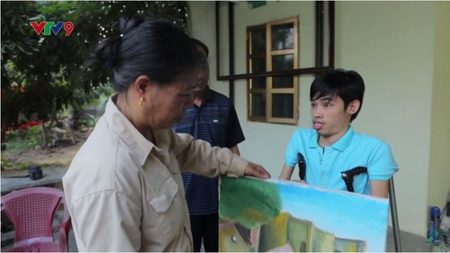 Hoa sy khuyet tat Luu Xuan Thanh: Nguoi ve lai so phan-Hinh-8