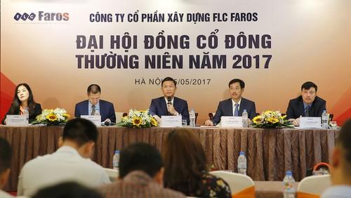 Ong Trinh Van Quyet tro thanh Tan Chu tich HDQT FLC Faros