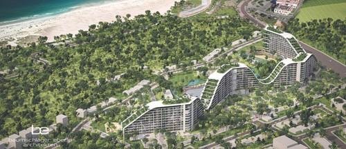 FLC khoi cong Khach san The Coastal Hill 1.500 phong