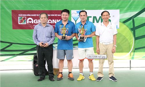 Giao luu tennis khoi thanh tra cac Bo khoi kinh te nganh nam 2017-Hinh-2