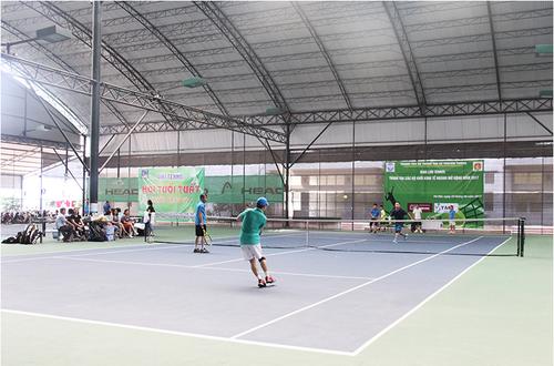 Giao luu tennis khoi thanh tra cac Bo khoi kinh te nganh nam 2017