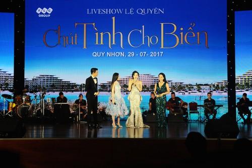 "Le Quyen me hoac khan gia Quy Nhon voi ""Chut tinh cho bien"""