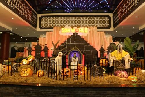 Bua tiec Halloween sieu doc dao tai Sun World Danang Wonders