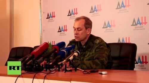 Chien su bung phat o lang Peski, Donetsk