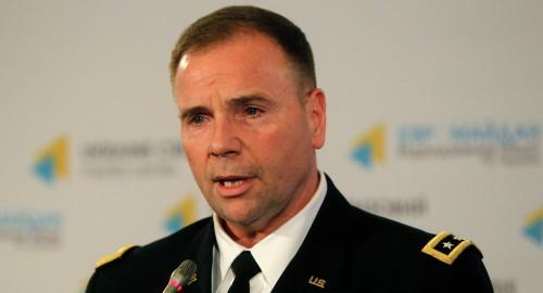 Binh si My sap sang Kiev dao tao Ve binh Ukraine