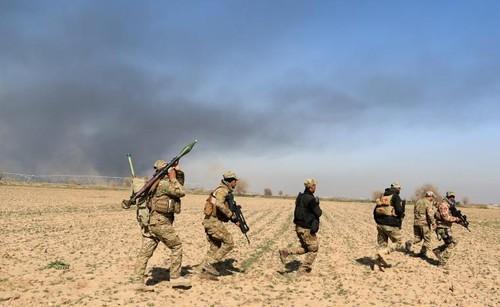 Quan doi Iraq lan dau tien vao cac quan tay Mosul