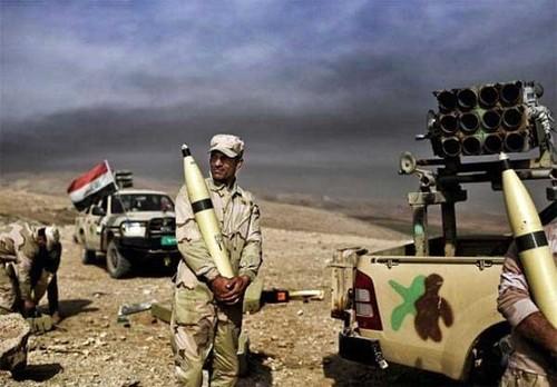 Quan doi Iraq gianh duoc 60% dien tich o Tay Mosul