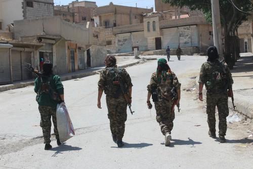 Luc luong SDF gianh duoc lang gan Tabqa, IS thua dau