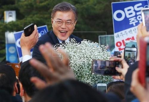 Chan dung tan Tong thong Han Quoc vua dac cu Moon Jae-in