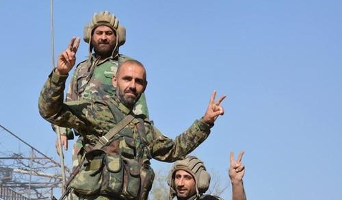 Quan doi Syria danh tan tac khung bo giap bien gioi Iraq