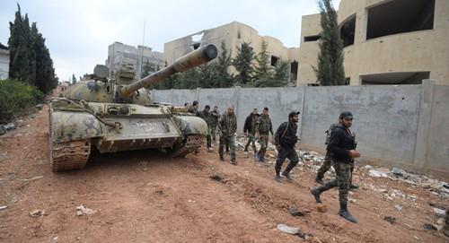 Quan doi Syria tien sat thanh tri IS cuoi cung o tinh Aleppo
