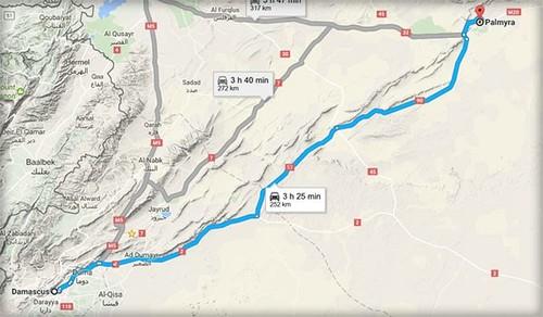Dap bay IS, Quan doi Syria giai phong tuyen duong Palmyra-Damascus-Hinh-2