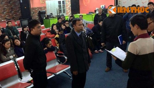 Vu san vang ao HGI: Bat khan cap 6 doi tuong
